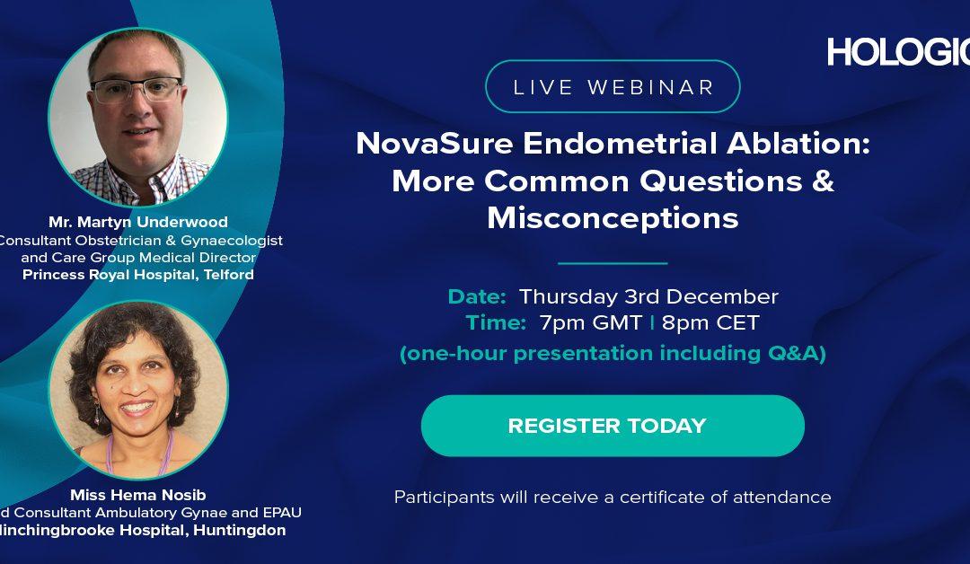 NovaSure Endometrial Ablation – More Common Questions & Misconceptions