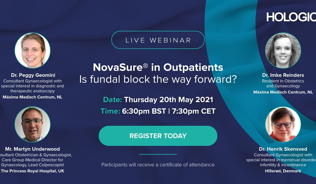 NovaSure in Outpatients – Is fundal block the way forward?