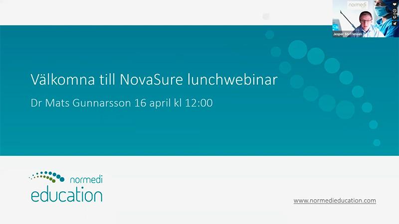 Setting Up Office-Based NovaSure Procedures (Swedish)